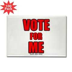 Vote for Me Rectangle Magnet (100 pack)