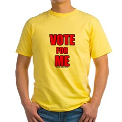 Vote for Me Yellow T-Shirt