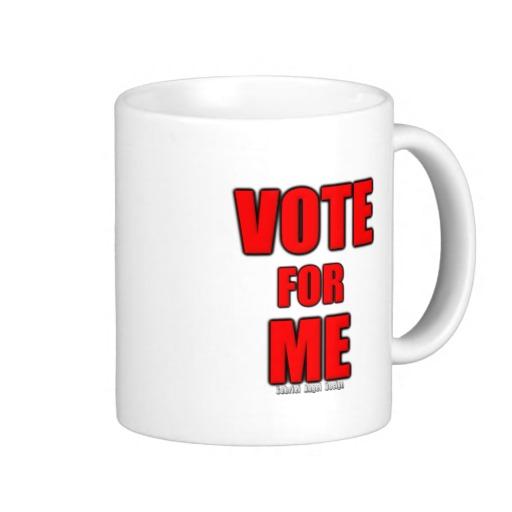 Vote for Me Classic White Mug