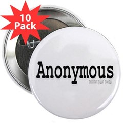 "Anonymous 2.25"" Button (10 pack)"