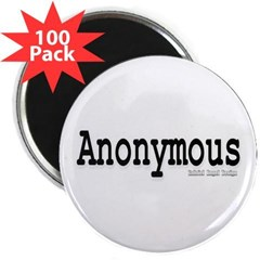 "Anonymous 2.25"" Magnet (100 pack)"