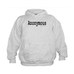 Anonymous Kids Sweatshirt by Hanes