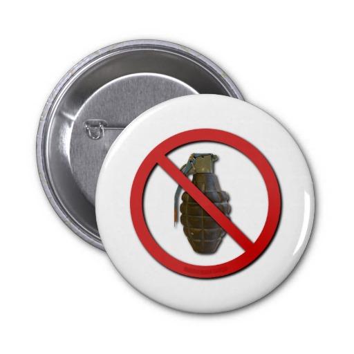No Grenades Button