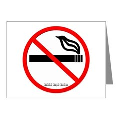 No Smoking Note Cards (Pk of 10)
