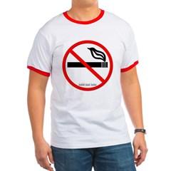 No Smoking Ringer T-Shirt