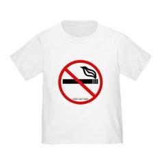 No Smoking Toddler T-Shirt