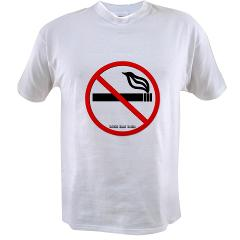 No Smoking Value T-shirt
