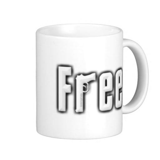 """Free"" Classic White Mug"