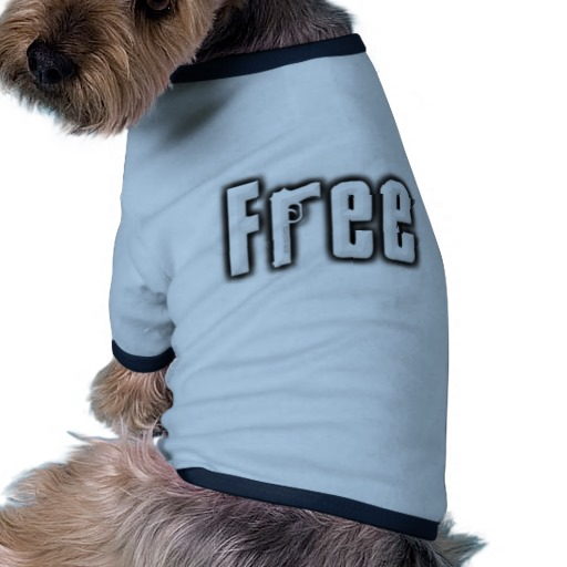 """Free"" Doggie Ringer T-Shirt"