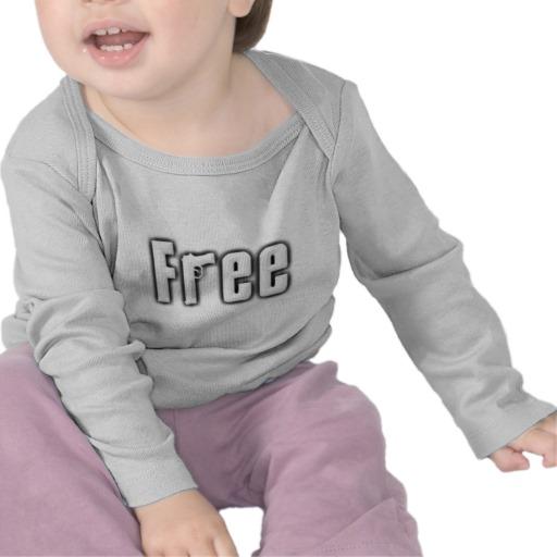 """Free"" Infant Bella Long Sleeve T-Shirt"
