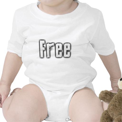 """""""Free"""" Infant Creeper"""
