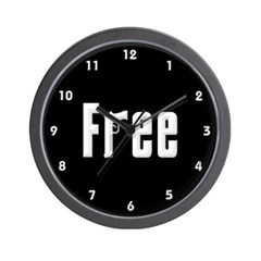 """Free"" Wall Clock"