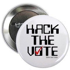 Hack the Vote Button
