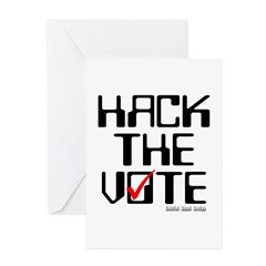 Hack the Vote Greeting Cards (Pk of 10)