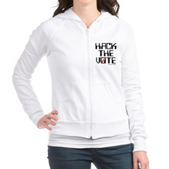 Hack the Vote Junior Zip Hoodie