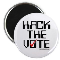 Hack the Vote Magnet
