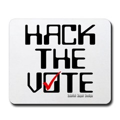 Hack the Vote Mousepad