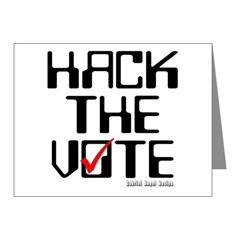 Hack the Vote Note Cards (Pk of 20)