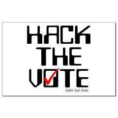 Hack the Vote Small Posters