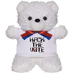 Hack the Vote Teddy Bear