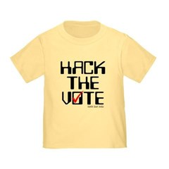Hack the Vote Toddler T-Shirt