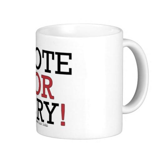 Vote or Cry! Classic White Mug