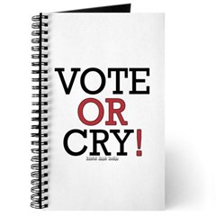Vote or Cry! Journal