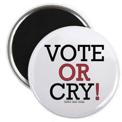 Vote or Cry! Magnet
