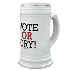 Vote or Cry! Stein