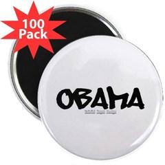 "Obama Graffiti 2.25"" Magnet (100 pack)"