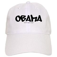 Obama Graffiti Baseball Cap