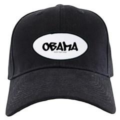 Obama Graffiti Baseball Hat