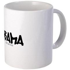 Obama Graffiti Coffee Mug