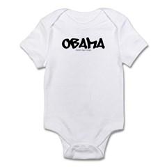 Obama Graffiti Infant Bodysuit