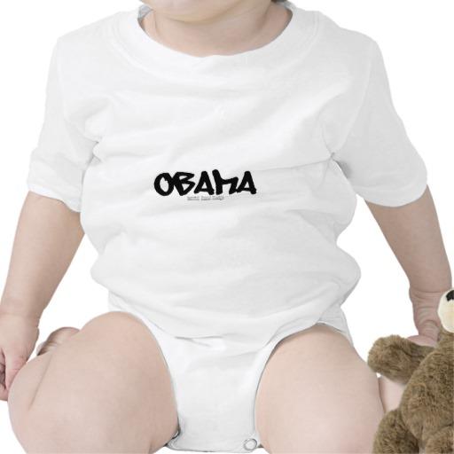 Obama Graffiti Infant Creeper