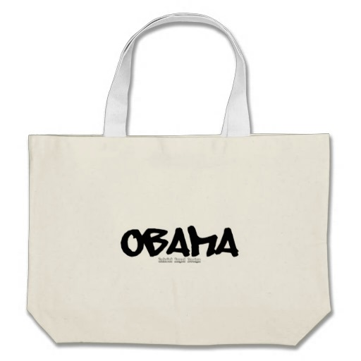 Obama Graffiti Jumbo Tote