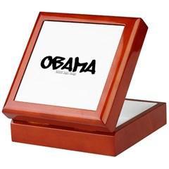 Obama Graffiti Keepsake Box