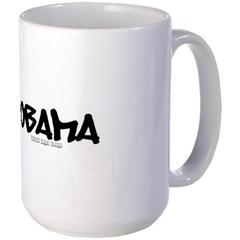 Obama Graffiti Mug