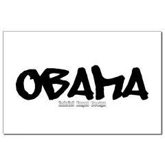 Obama Graffiti Small Posters
