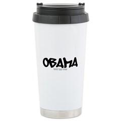 Obama Graffiti Travel Mug