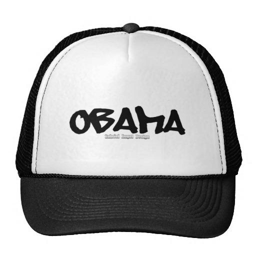 Obama Graffiti Trucker Hat