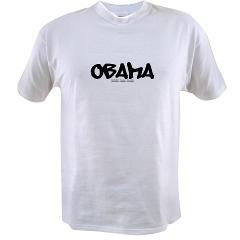 Obama Graffiti Value T-shirt
