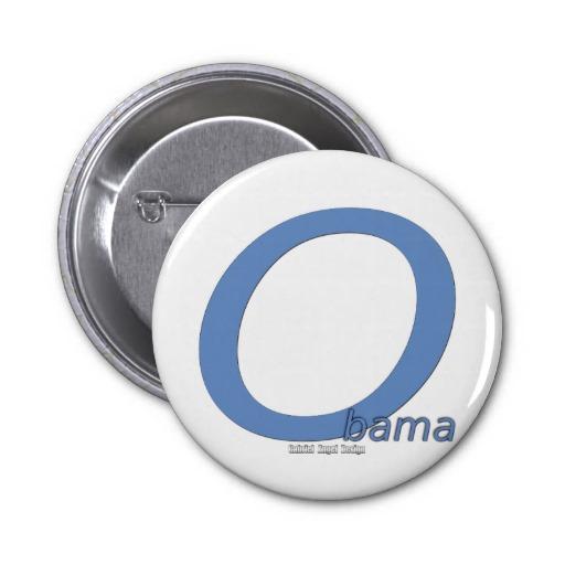 Obama Big O Buttons