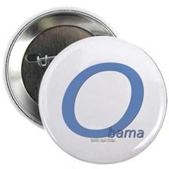 "Obama O Lean 2.25"" Button"