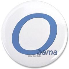 "Obama O Lean 3.5"" Button"