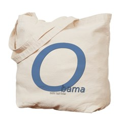 Obama O Lean Canvas Tote Bag