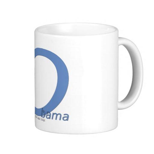Obama O Lean Classic White Mug