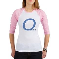 Obama O Lean Junior Raglan T-shirt