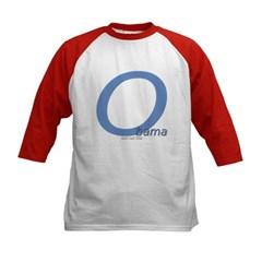 Obama O Lean Kids Baseball Jersey T-Shirt