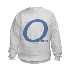 Obama O Lean Kids Crewneck Sweatshirt by Hanes
